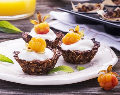Muffin Tin Granola Cup Recipe