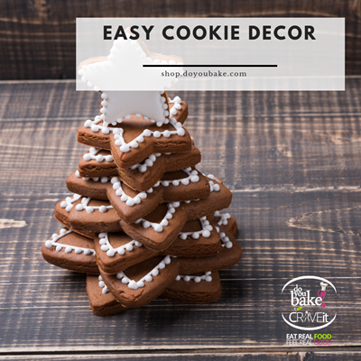 Easy Holiday Cookie Decor