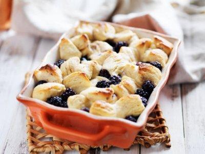 Berries & Cream Bubble Up Bake Recipe