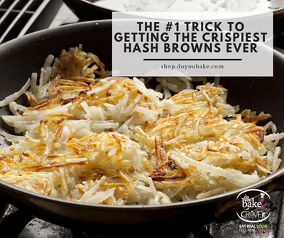 The #1 Trick to Getting the Crispiest hash browns Ever