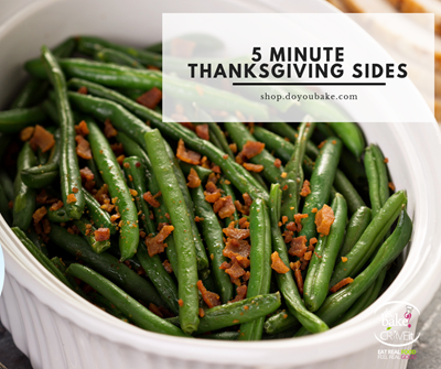 5 Minute Side Dishes : Cheesy Bacon Green Bean Bake