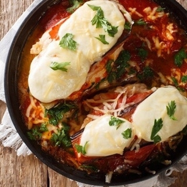 Picture of Baked Chicken Parmesan Casserole