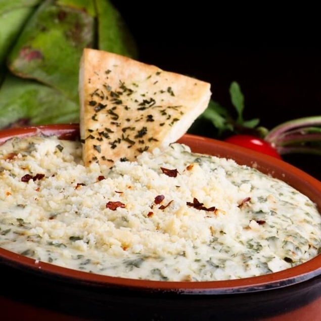 Picture of Hot Baked Spinach & Artichoke Dip & Seasoning Blend