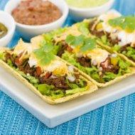Picture of HOT Pierogi Lasagna: Broccoli & Cheddar Alfredo To…COLD Mexicali Cobb Salad