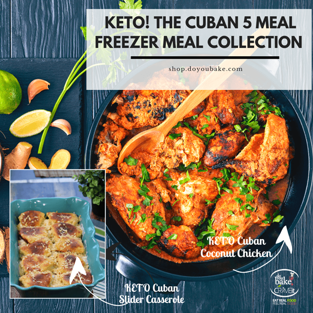 Picture of KETO Cuban 5 : Freezer Meal Collection - Limited Edition