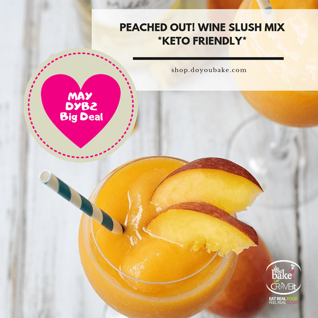 Picture of Peached OUT Wine Slush Mix : KETO and Sugar Free
