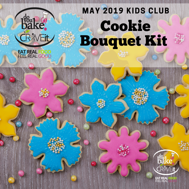 Picture of May Kids Club : Cookie Bouquet Kit