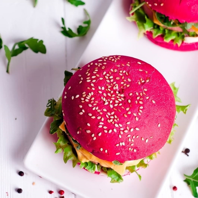 Picture of The Beetroot Burger Bun