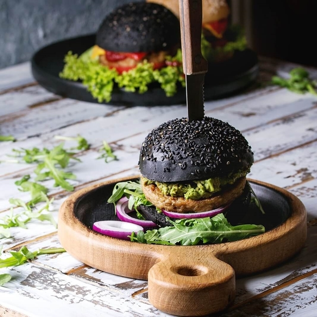 Picture of The Charcoal Burger Bun