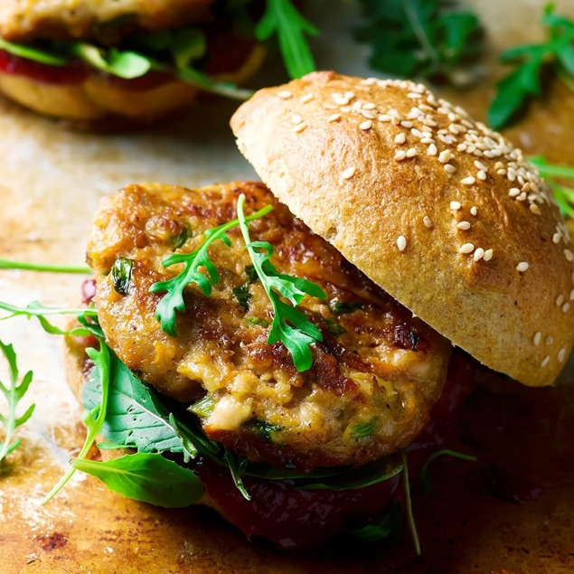 Picture of Curried Turkey Burger