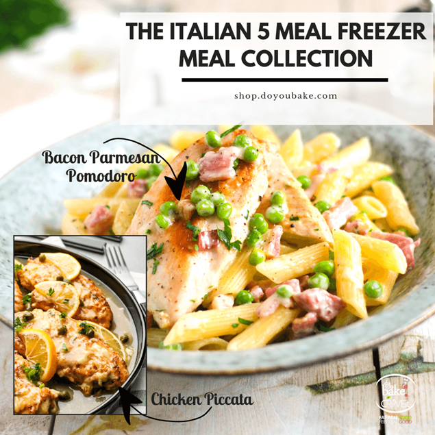 Picture of Italian 5 : Freezer Meal Collection - Limited Edition