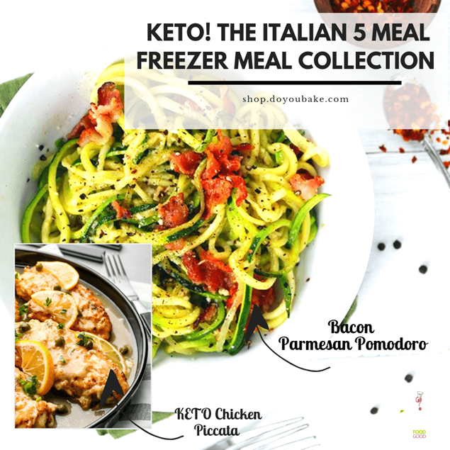 Picture of KETO Italian 5 : Freezer Meal Collection - Limited Edition