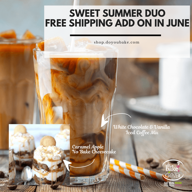 Picture of Free Shipping Add On: Ice Coffee & No Bake Cheese cake