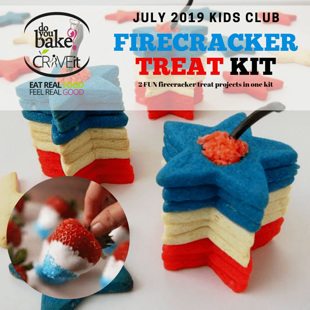 Picture of July Kids Club : Fire Cracker Treat Kit