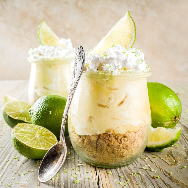 Picture of Lemon Lime Citrus No Bake Cheesecake