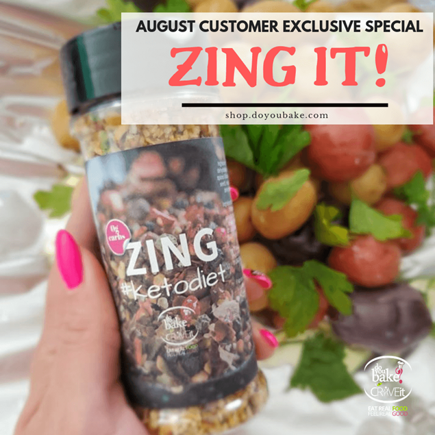 Picture of ZING! - August Customer Special