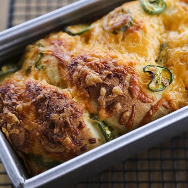 Picture of Bacon Jalapeno Cheese Quick Bread