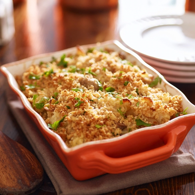 Picture of Chicken Tetrazzini Casserole