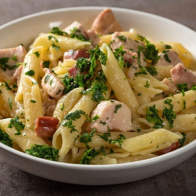 Picture of Chicken Ranch Baked Penne