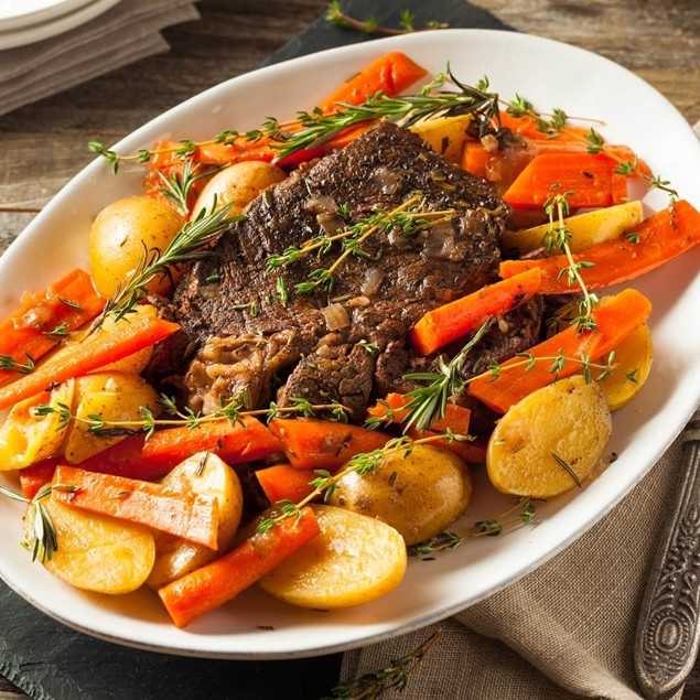 Picture of Perfect Pot Roast & Veg