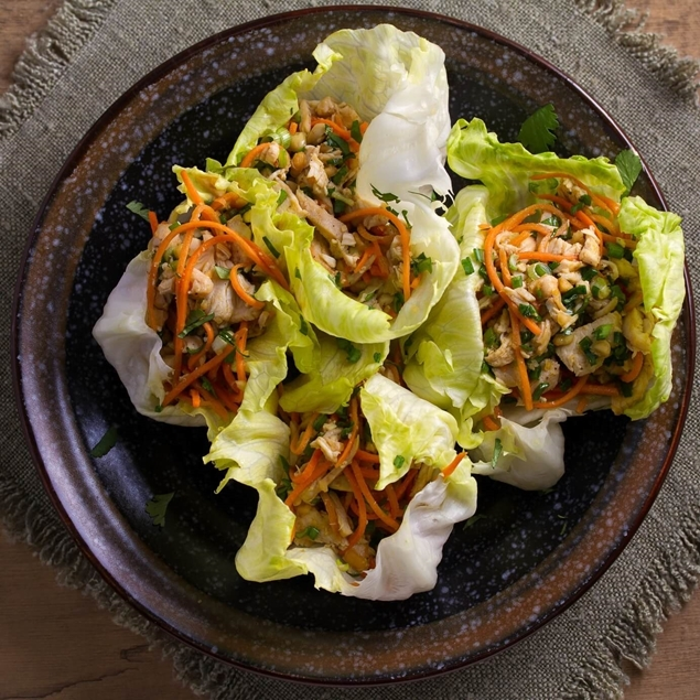 Picture of Sweet Chili Pork Lettuce Wraps