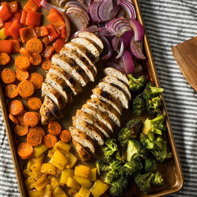 Picture of Sheet Pan Roasted Chicken & Veg