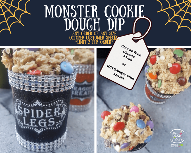 Picture of KETO Monster Cookie Dough Dip