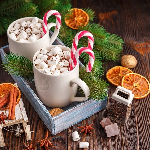 Picture of Candy Cane Hot Cocoa
