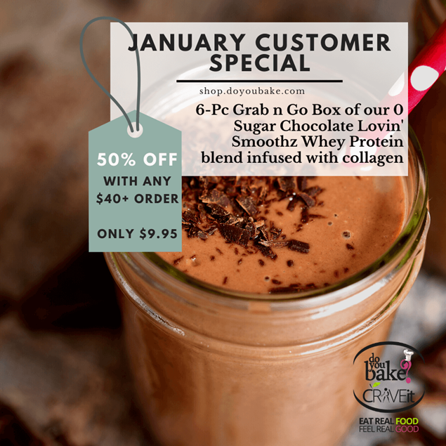 Picture of Jan Cust Special : Chocolate Lovin' Grab n Go Protein Box